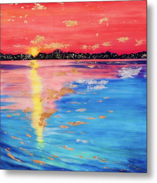 At Sunset Metal Print