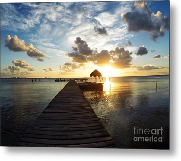 At The End Of Paradise Metal Print
