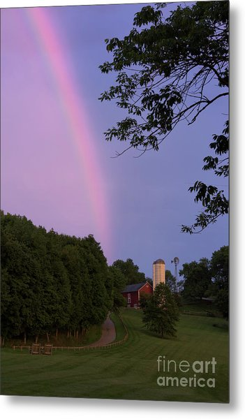 At The End Of The Rainbow Metal Print