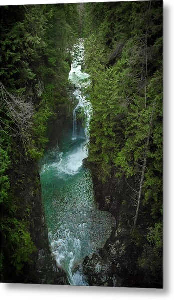 Wonderful Waterfall Metal Print