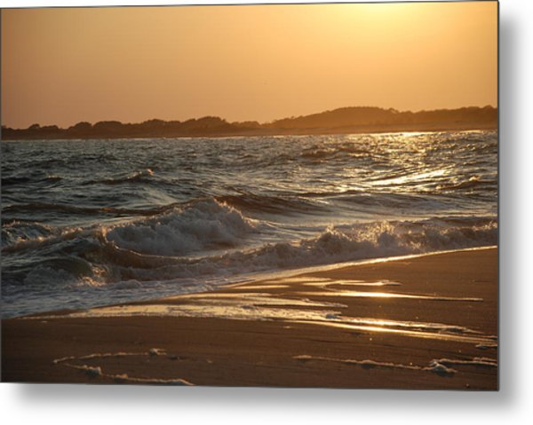 At The Golden Hour Metal Print