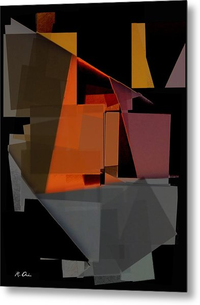 At The Plaza Metal Print by Rene Avalos