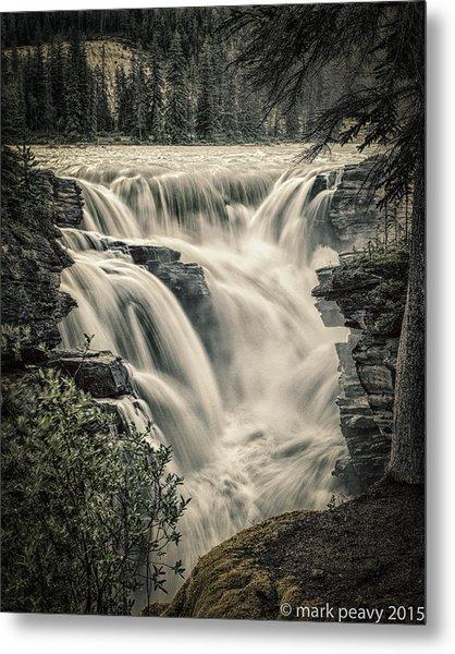 Athabasca Falls Metal Print