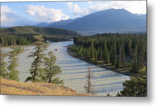 Athabasca River - Jasper Metal Print