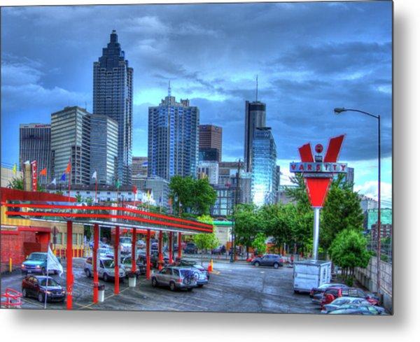 Atlanta Landmark The Varsity Art Metal Print