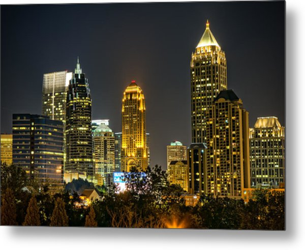 Atlanta Skyscrapers  Metal Print