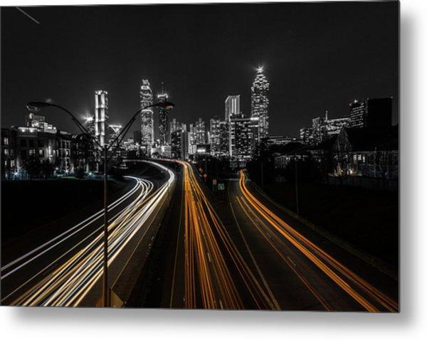 Atlanta Tones Metal Print