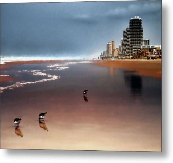 Atlantic Beach Metal Print