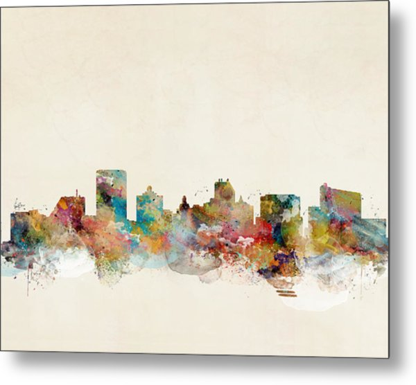 Atlantic City Metal Print
