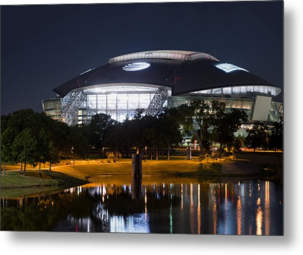 Dallas Cowboys Stadium 1016 Metal Print