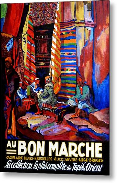 Au Bon Marche Metal Print