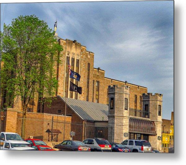 Auburn Correctional Facility Metal Print