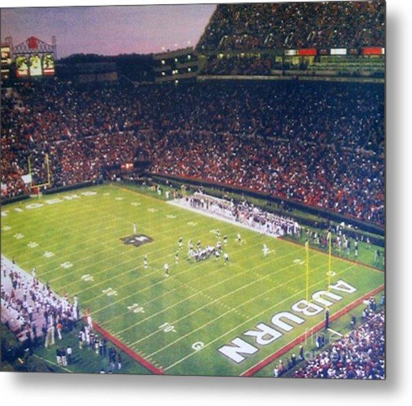 Auburn Football Metal Print