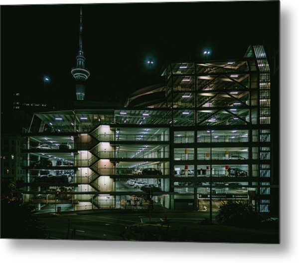 Auckland Nights Metal Print