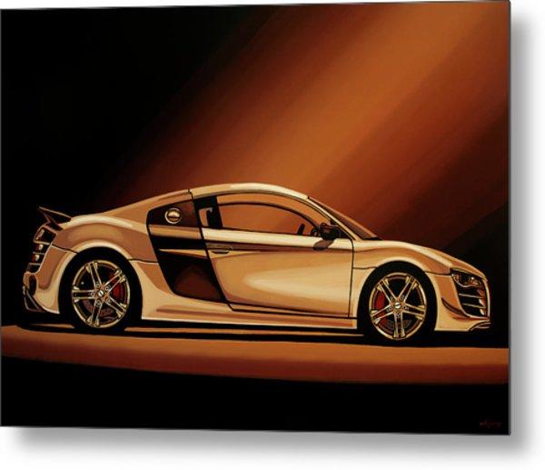 Audi R8 2007 Painting Metal Print