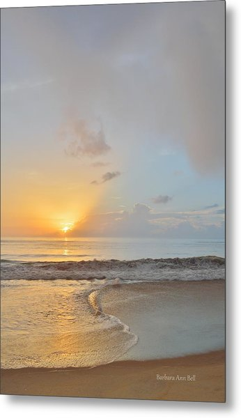 August 10 Nags Head Metal Print