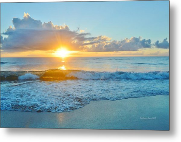 August 12 Nags Head, Nc Metal Print