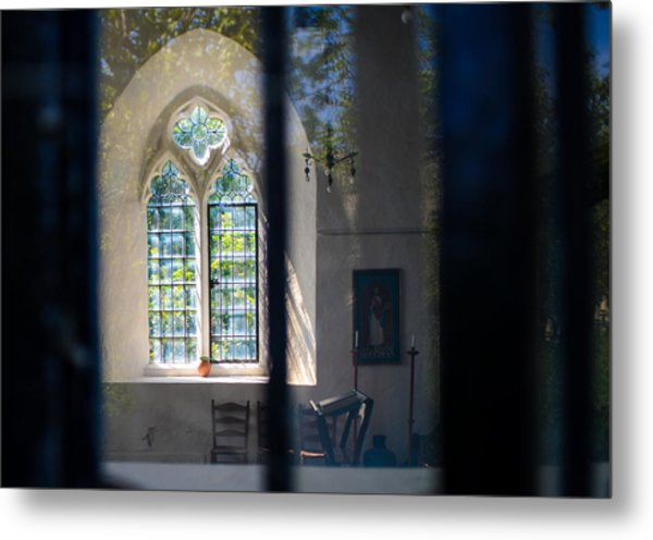Augustinian Reflection Metal Print