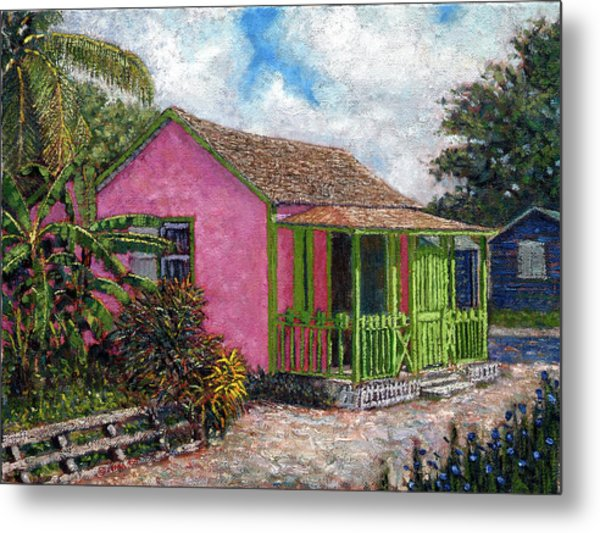 Aunt Suzy's Cottage Metal Print