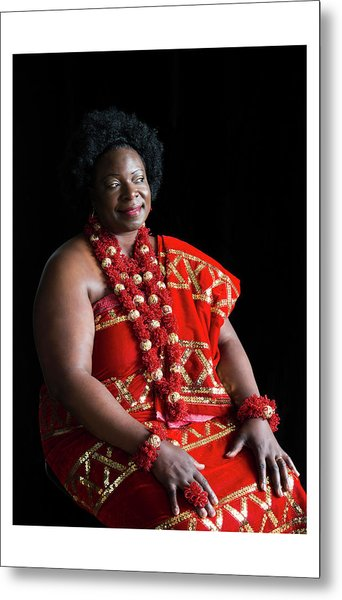 Aunty Jeanette Metal Print by Celebration Of African Women By Nubian Nights Out