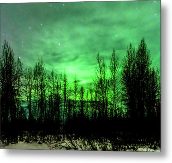 Metal Print featuring the photograph Aurora In The Clouds by Bryan Carter