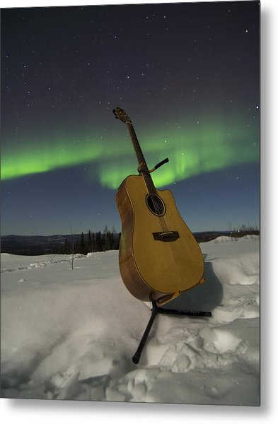 Aurora Instrumentalis Metal Print