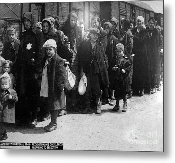 Auschwitz-28 Metal Print