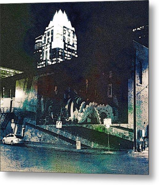 Austin Night Metal Print