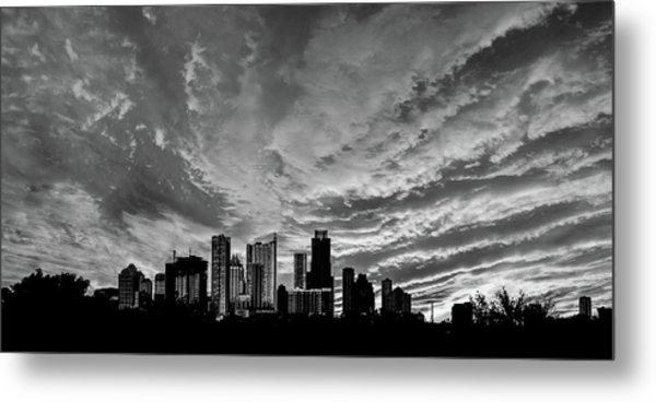 Austin Skyline Metal Print