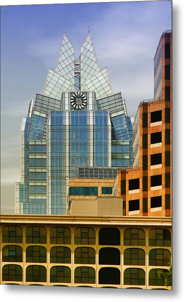 Austin Speaks Metal Print