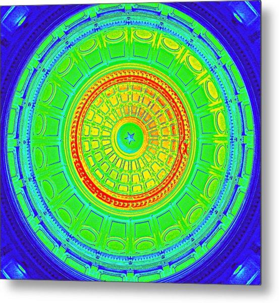 Austin Capitol Dome - 3 Metal Print