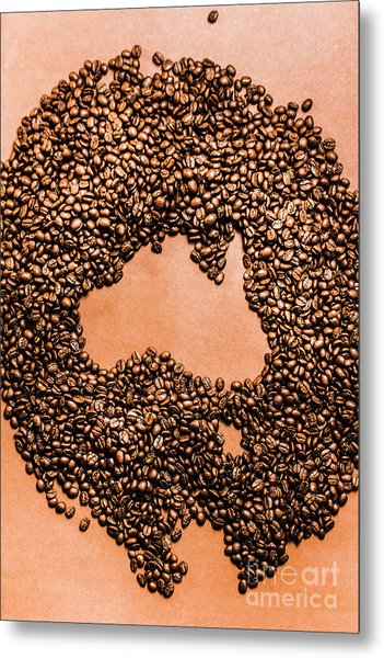 Australia Cafe Artwork Metal Print