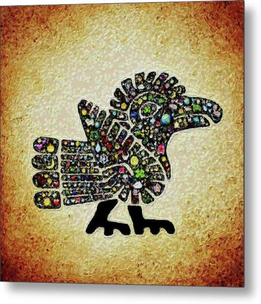 Authentic Aztec Wall Art Metal Print