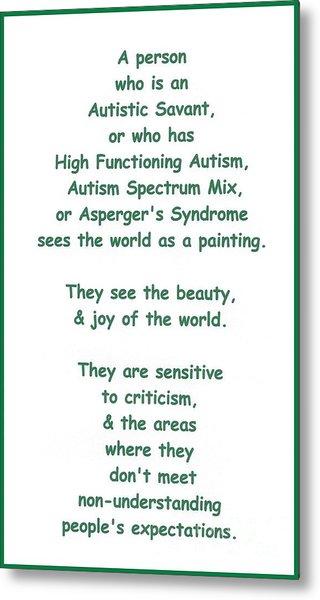 Autism Torture Metal Print