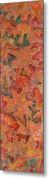 Autmn's Leaves Metal Print