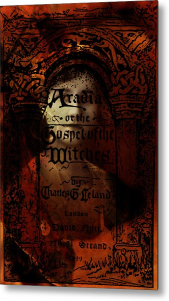 Autumn Aradia Witches Gospel Metal Print