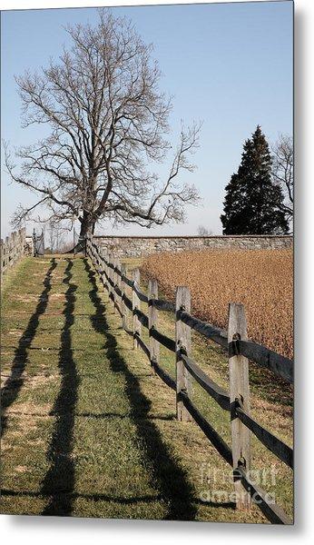Autumn At Antietam Metal Print