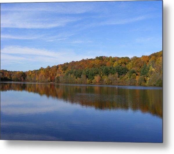 Autumn At Lake Mohegan Metal Print by Margie Avellino