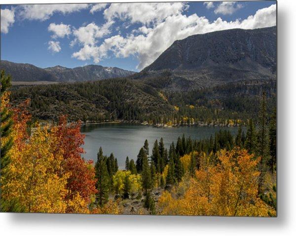 Autumn At Rock Creek Lake Metal Print