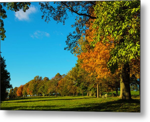 Autumn At World's End Metal Print