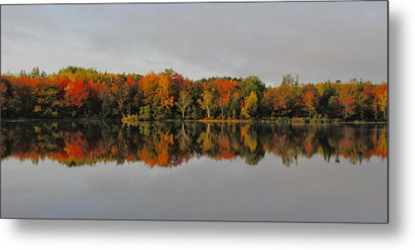 Autumn Beauty - Nova Scotia Landscape Metal Print