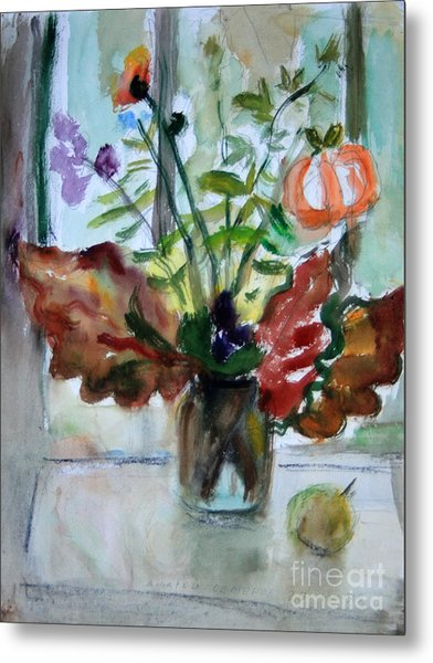 Autumn Bouquet Metal Print by Andrey Semionov