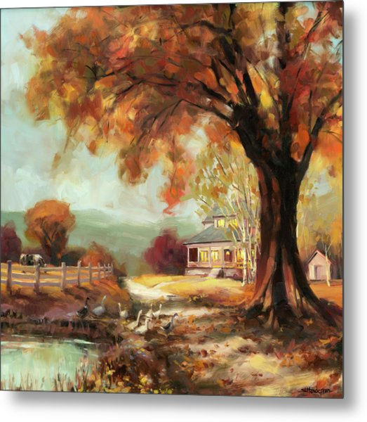 Autumn Dreams Metal Print
