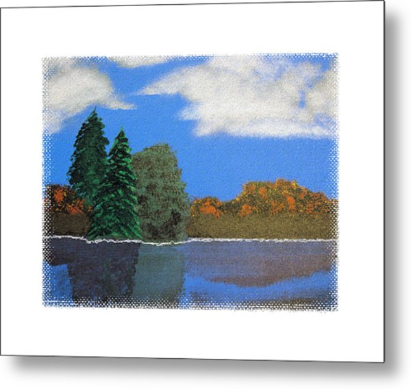 Autumn Dusk- A Tribute To Ross Metal Print by Robert Boyette