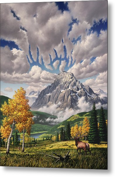Autumn Echos Metal Print