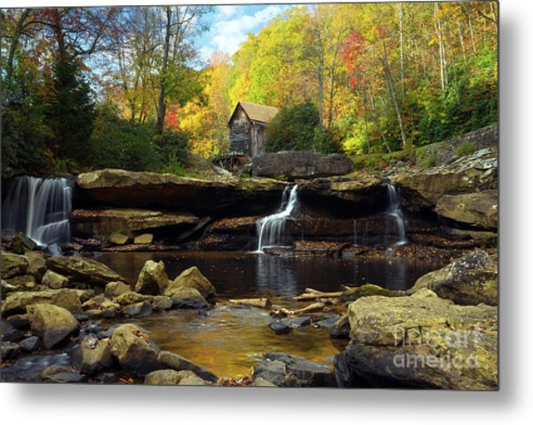 Autumn Fantasia Metal Print