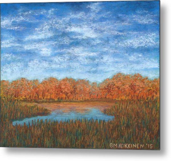 Autumn Field 01 Metal Print