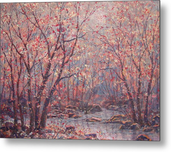 Autumn Harmony. Metal Print