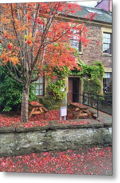 Autumn In Dunblane Metal Print