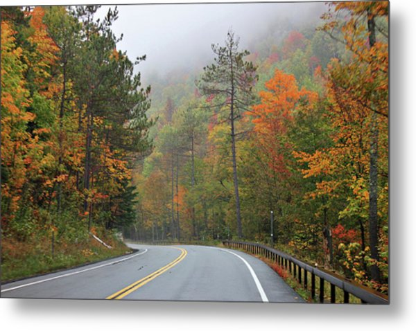 Metal Print featuring the photograph Autumn In Keene Valley by Jessica Tabora